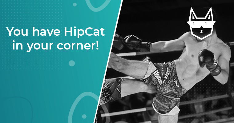 You have HipCat in your corner