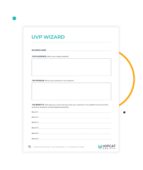 Preview of UVP Wizard in the workbook