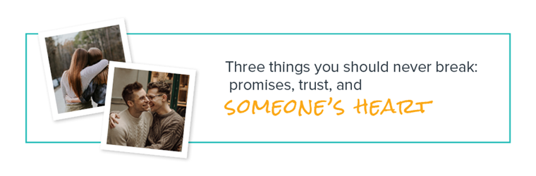 3 things you should never break