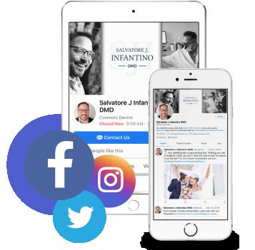 An image social social media branding, and marketing