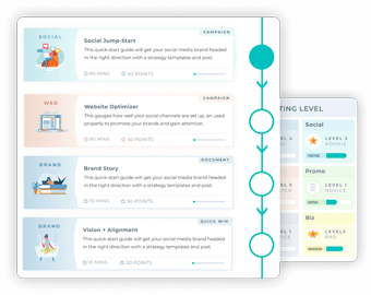 Preview of the Strategy Roadmap in the HipCat Society Web App